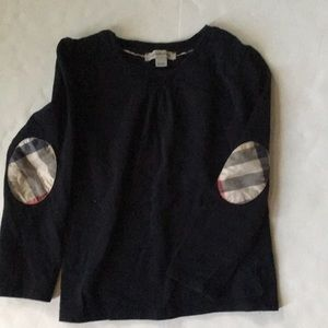 Burberry kids long sleeve t-shirt